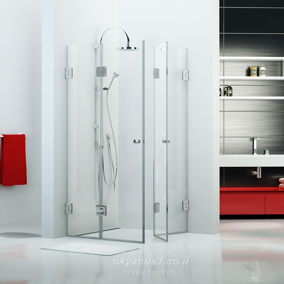 מקלחונים רומנטיים בהרצליה
